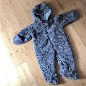 carter's size 3 mo sherpa hooded bunting